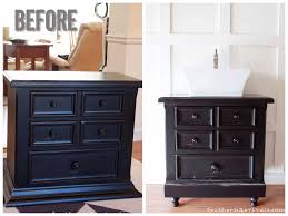 Americana Decor Chalky Finish Paint Colors by Turning Our Nightstand Into Our Bathroom Vanity Americana Decor