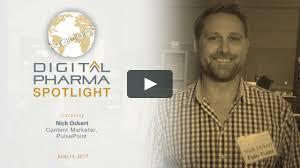 100 Ockert Industry Pulse At Digital Pharma West Nick PulsePoint On Vimeo