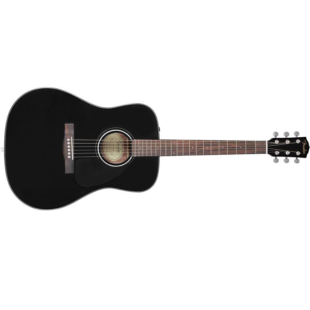 Fender CD-60 Dreadnought V3, Black