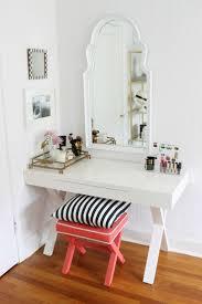 White Makeup Desk With Lights by Bedrooms Corner Vanity Table Black Vanity Desk Glass Makeup