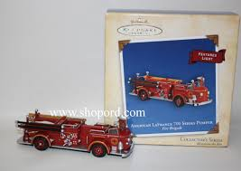 Hallmark 2004 American LaFrance 700 Series Pumper 2nd In The Fire ... Amazoncom Hallmark Keepsake 2017 Fire Brigade 1979 Ford F700 Personalized Truck On Badge Ornament Occupations Lightup Led Engine Free Customization Youtube 237 Best Christmas Tree Ideas Images On Pinterest Merry Fireman Hat Ornament Refighter Truck Aquarium Decoration 94x35x43 Kids Dumptruck 1929 Chevrolet Collectors 2014 1971 Gmc Home Old World Glass Blown