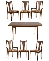 Broyhill Brasilia Dining Table And Six Chairs - Jun 29, 2017 ... Broyhill Ding Room Set New Mid Century Bedroom Fniture Fresh Midcentury Walnut Ding Room Set Brasilia By Used Attic Retreat 6 Piece Table Ladderback Rustic Leg With Leaves Fmg Lenoir 5piece Counter Height Costco For The Modern And Chairs Etsy Forward 70 Apartment Sold Out Premier Ming Collection Vintage Burl Lacquer Pick Your Lovely Couch Design Living Seabrooke Turned Local