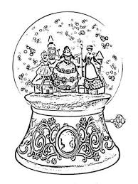 Barbie In A Christmas Carol Coloring Pages