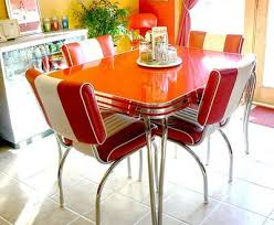 Retro Dining Room Table Sets And Chairs CBZDUZF