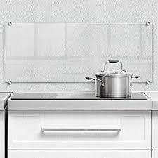 100x50 cm küchenrückwand aus echtglas wassertropfen tulup