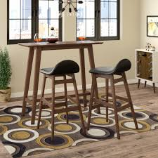 Langley Street Adriana 3 Piece Pub Table Set & Reviews | Wayfair