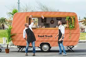 100 Free Truck Food Mockup PSD