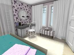 Spring Decorating Ideas Bedroom Design With Lavender Walls And Wallpaper