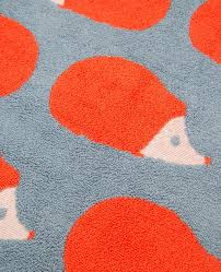 Kissing Hedgehogs Bath Mat Bathroom Mat Anorak