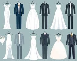 Wedding Clipart Wedding dress clipart Bridal Clipart Bride clipart Digital Bride Groom Clip Art
