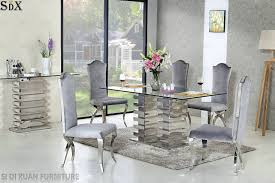 [Hot Item] Modern Home Furniture For Dining Room Set Metal Furniture  Banquet Restaurant Dining Table & Chair Kings Brand Fniture 3 Piece Bronze Metal Square Ding Kitchen Dinette Set Table 2 Chairs Elixir 80in Rectangular With Base By Hooker At Dunk Bright Costway 5 4 Wood Breakfast Chic Gray Room With Rustic And Vintage Louis Pair Of Silver Velvet Mirrored Legs Vida Living Tempo Glass C1860p Industrial Round Lifestyle Sam Levitz Fixer Upper A Contemporary Update For A Family Sized House Hot Item Cheap Leg Chair Vecelo Sets Pcs Embossed White Montello 3piece Old Steel