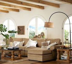 Pottery Barn Floor Lamps Discontinued by Cfl Chelsea Sectional Floor Task Lamp With Burlap Shade Bronze