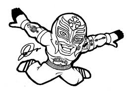 Coloring Pages Wwe 15 WWE