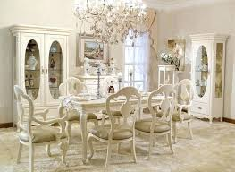 Paint Ideas For French Provincial Furniture Dining Room Painted With White Colors