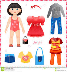 Doll Clipart Clothes 8