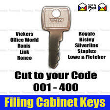 Bisley File Cabinet Replacement Key by Filing Cabinet Key Ebay
