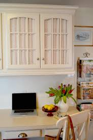 Ikea Kitchen Cabinet Doors Sizes by Kitchen Cottage Kitchen Desk With Fabric Doors Exciting Glass