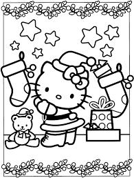 Hello Kitty Christmas Print