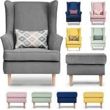 details zu sessel ohrensessel fernsehsessel wohnzimmersessel couchsessel stillsessel hocker