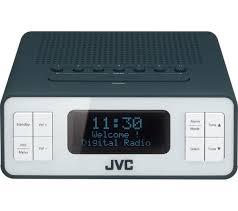 ra d38 h dab fm clock radio grey