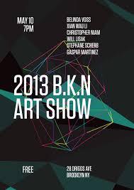 BKN Show Posters Xander Vinogradov