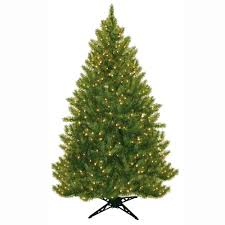 Pre Lit Pencil Christmas Tree 7 Ft by General Foam 6 5 Ft Pre Lit Carolina Fir Artificial Christmas
