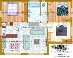 les 3 chambres plan gratuit maison 3 chambres pas chere toit plat