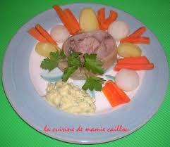 comment cuisiner la tete de veau tête de veau sauce gribiche la cuisine de mamie caillou