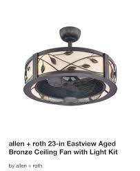 ceiling fans with lights for low ceilings low profile linen drum