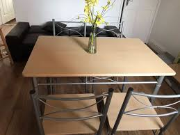 Dining Table+4 Chairs In B77 Tamworth For £55.00 For Sale - Shpock 4 Chair Kitchen Table Set Ding Room Cheap And Ikayaa Us Stock 5pcs Metal Dning Tables Sets Buy Amazoncom Colibrox5 Piece Glass And Chairs Caprice Walkers Fniture 5 Julia At Gardnerwhite Pc Setding Wood Brown Ikayaa Modern 5pcs Frame Padded Counter Height Ding Set Table Chairs Right On Time Design 4family Elegant Tall For Sensational