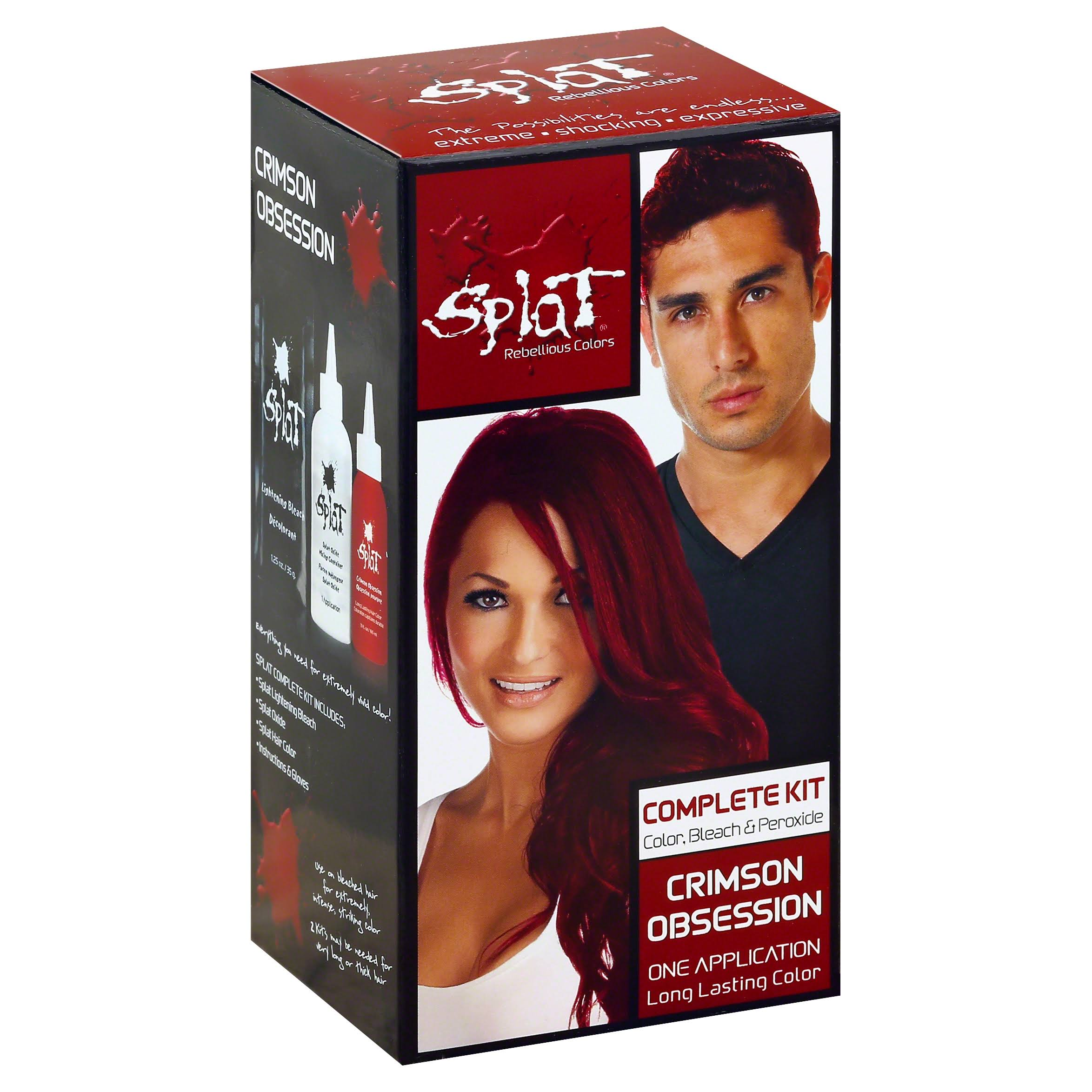 Splat Complete Hair Color Kit - Crimson Obsession