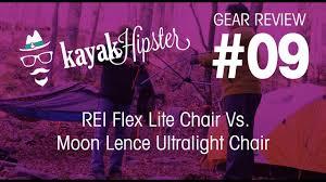 rei flex lite chair vs moon lence ultralight chair for cing