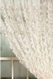 Pink Ruffle Curtains Urban Outfitters by Waterfall Ruffle Curtain