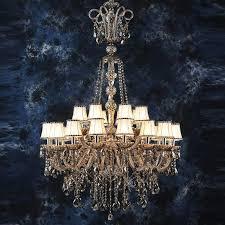 155cm Long Retro Led Chandelier Lighting For Living Room 12 24 Arm Stair Light