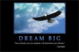 DIY Frame DREAM BIG Zig Ziglar Quotes Inspirational MOTIVATIONAL Eagle Animal Poster Art Silk Wall Cloth Fabric Painting In Calligraphy From Home