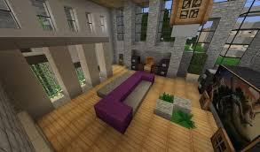 Minecraft Modern Living Room Interior Paint Color Ideas