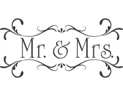 Mr And Mrs Clip Art