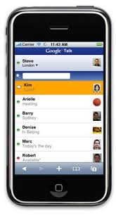 Google Talk App for the iPhone