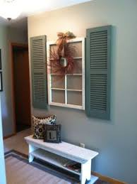 Feature Shutters For An Interior Wall