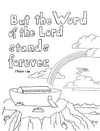 Matthew 6 25 34 Coloring Page A Free For The Bible Verse 1 Peter