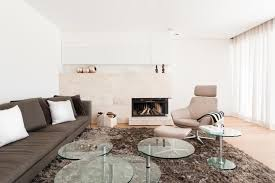 villa g couchtisch kamin wohnzimmer sofa glasco