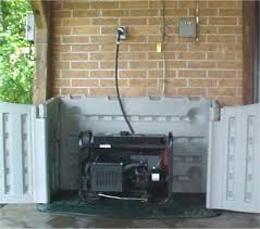 power outages and emergency backup generators