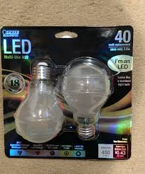 feit electric frosted a1940 led 2 non dimmable led bulbs 120 v 450
