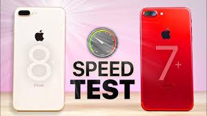 iPhone 8 Plus vs 7 Plus SPEED Test
