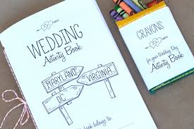 Free Printable Washington DC Wedding Activity Book 1