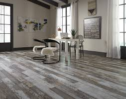 The Distressed Rustic Look Is Popular In Both Laminate And Hardwood Flooring Noted Jay