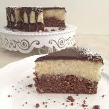 schoko kokos torte bounty torte schoko rührteig mit