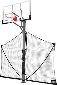 """Goaliath 60"""" In-Ground Basketball Hoop With Yard Defender 