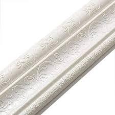 3d selbstklebende bordüre ckw wasserdichte tapete bordüre dekoration für wohnzimmer badezimmer küche fliesen weiß