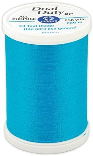 Coats Thread and Zippers Dual Duty XP General Purpose Thread - Rocket Blue, 250yds